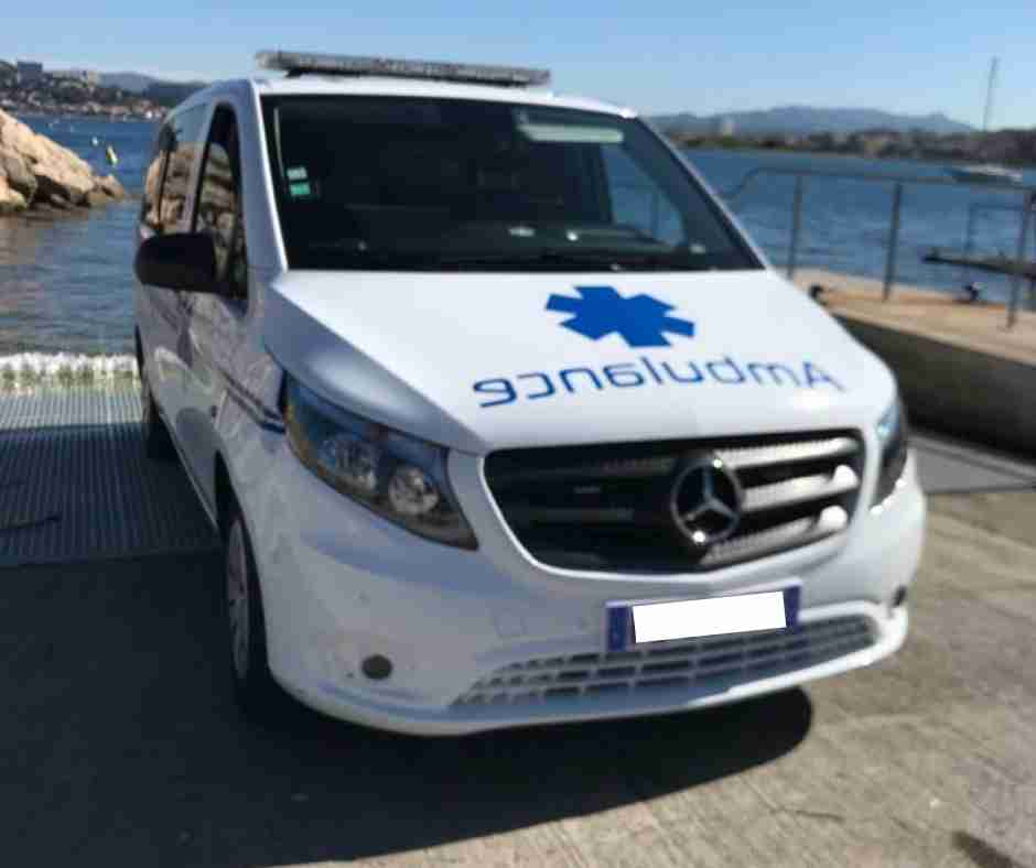 Ambulance marseille timone